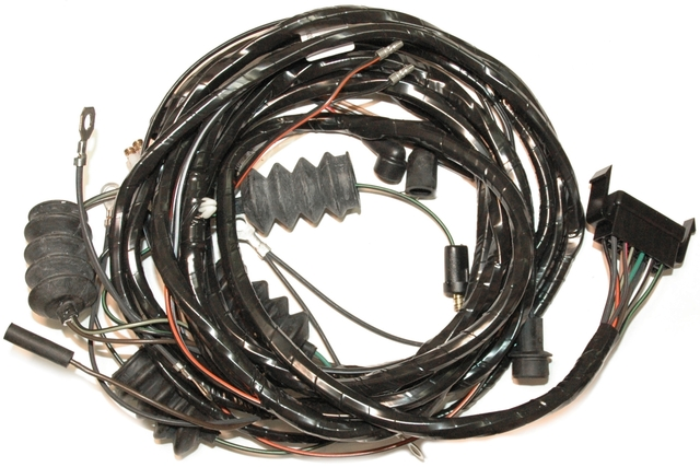 1965 Corvette Wiring Harness, Convertible Rear Body With
