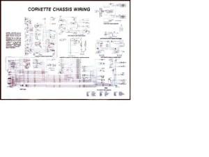 1975 Corvette Diagram, electrical wiring: CorvetteParts