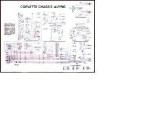 1961  1962 Corvette Diagram, electrical wiring: CorvetteParts