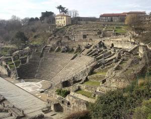 Theatre of Lugdunum (photo: Vincent Bloch).