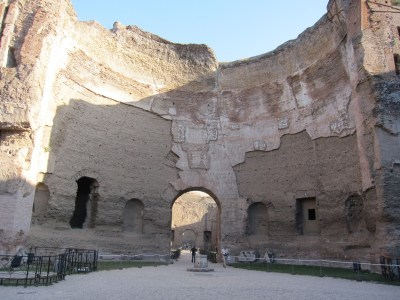 The Baths of Caracalla, Rome.