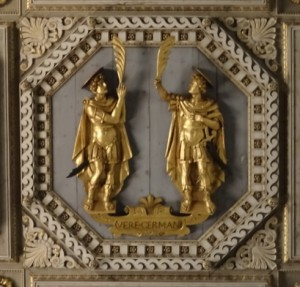 Saints John and Paul, 'truly brothers'.