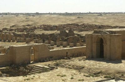 Ruins of Hatra (photo: 101st Airborne Division).