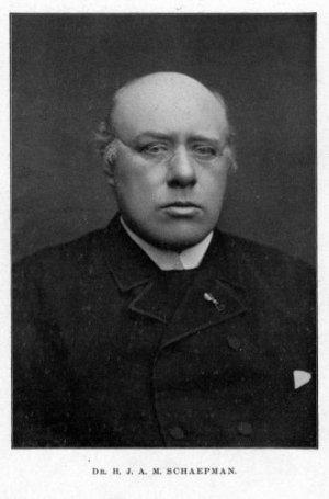 Herman Schaepman (bron: Spaarnestad, via Nationaal Archief)