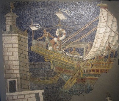 Pharos mosaic (Capitoline Museums, Rome).
