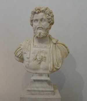 Bust of Septimius Severus (Museo Nazionale Romano, Rome).