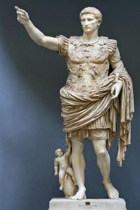 The Augustus of Prima Porta (photo: Till Niermann. CC BY-SA 3.0 license).