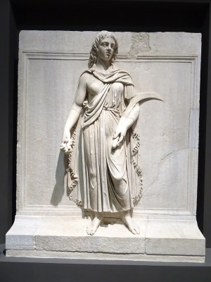Personification of a Roman provincie, possibly Thrace. Ca. 145 (Museo Nazionale Romano, Rome).