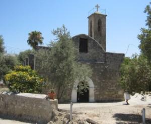 The 18th century Agia Kiriaki church in Polis.