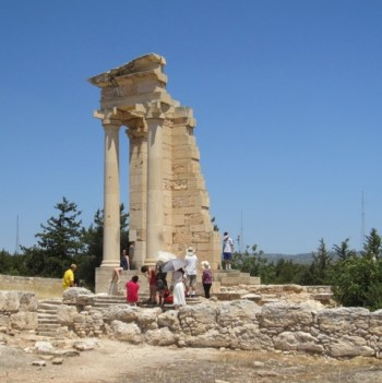 Remains of the temple of Apollo Hylates.