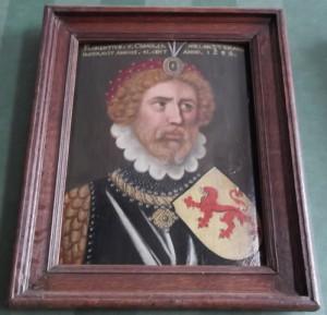 Graaf Floris V, laat 16e eeuws portret, Eerste Kamer, Den Haag.