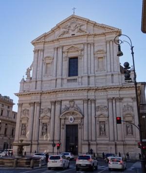 The Sant'Andrea della Valle.