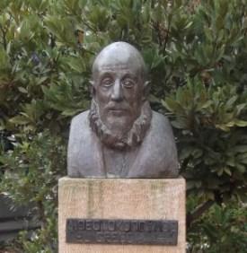 Bust of El Greco, Fodele.