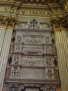 Pope Pius II's tomb.