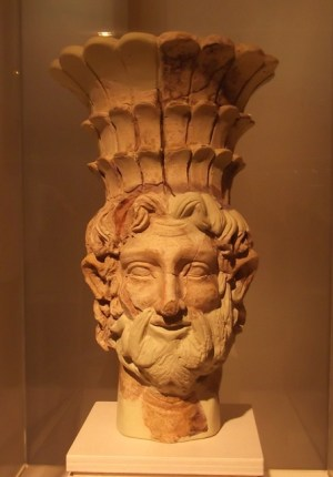 Head of Baal Hammon, one of the most important deities in Carthage.