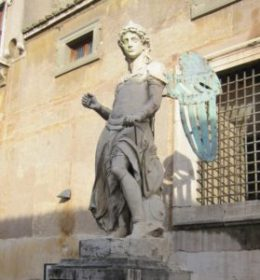 Da Montelupo's angel.