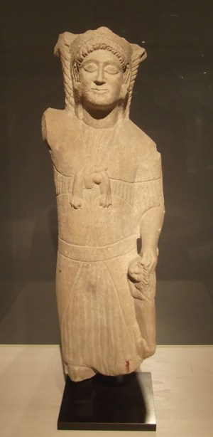 Hercules-Melqart, one of the chief deities in Carthage (Musée du Louvre).