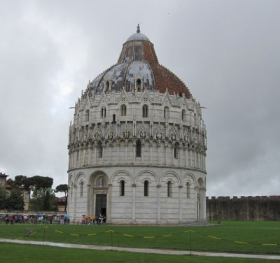 The Baptistery.