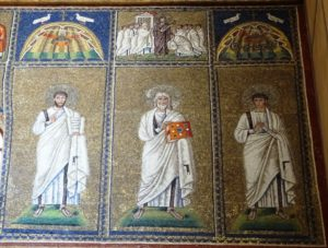 Mosaics of the middle zone.