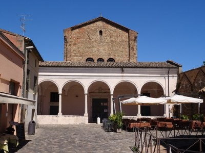 The Santo Spirito, the former Arian cathedral.