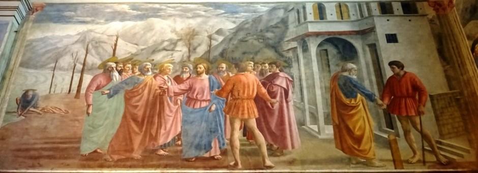 Brancaccikapel - Masolino, Masaccio, Lippi8