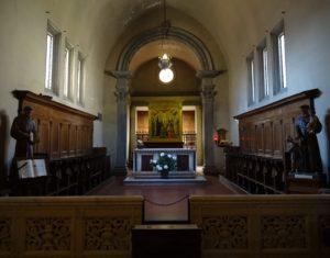 Sanctuary of the church.