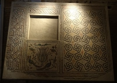 Floor from the chapel of San Vitale.