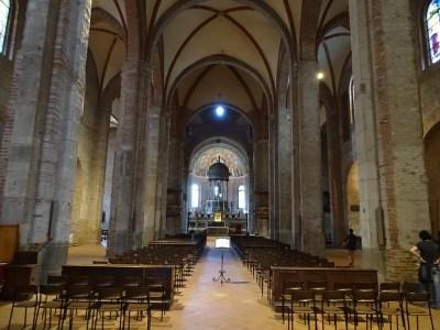 Interior of the church.