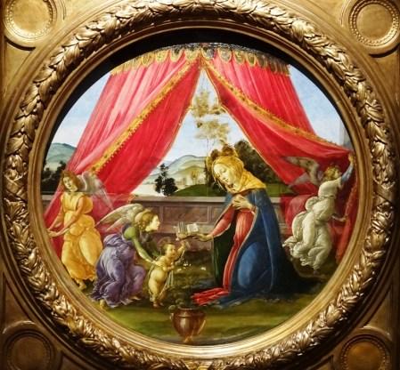 Madonna del Padiglione - Botticelli.