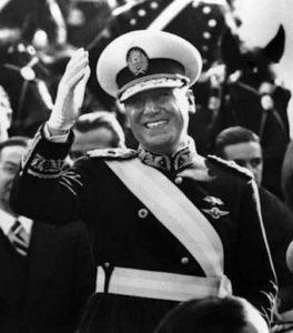 President Perón van Argentinië.