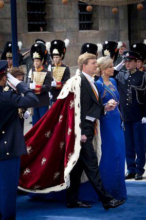 Inhuldiging van Koning Willem-Alexander (foto: Gerben van Es/Ministerie van Defensie).