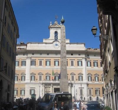 Palazzo Montecitorio.