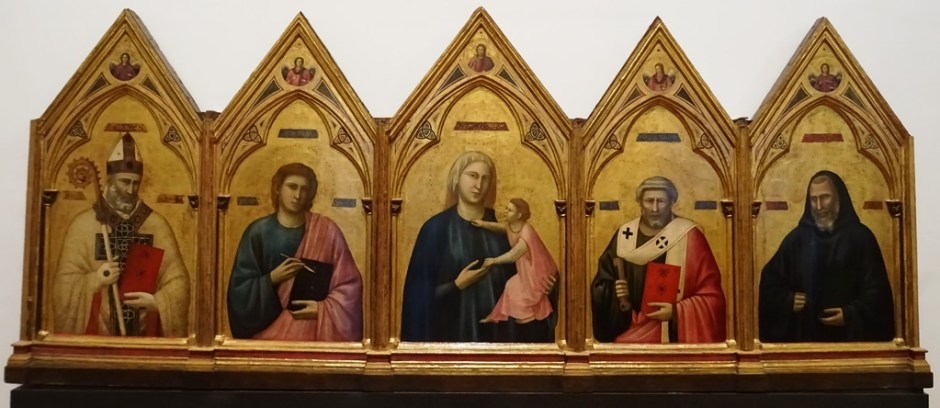 Badia Polyptych by Giotto.