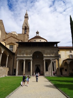 The Pazzi Chapel.