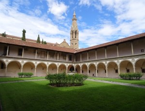 The second cloister.
