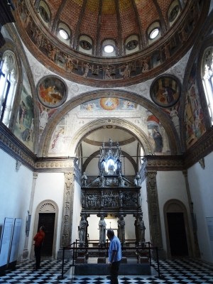 The Portinari Chapel.