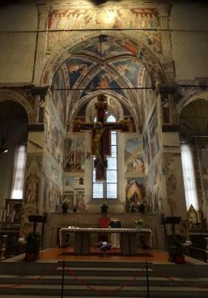 The Cappella Maggiore.