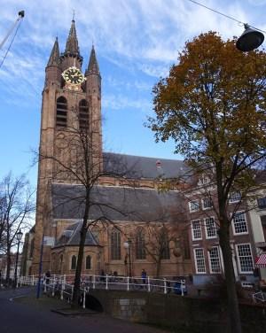 Oude Kerk te Delft.