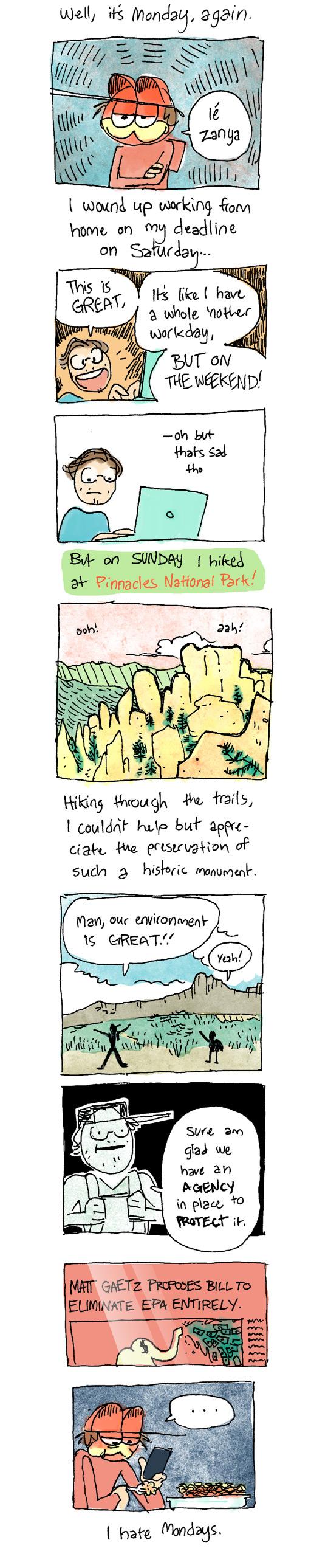 7 – The Pinnacles