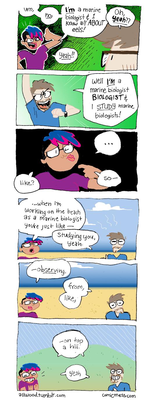 24 – Marine Biologist Biologist