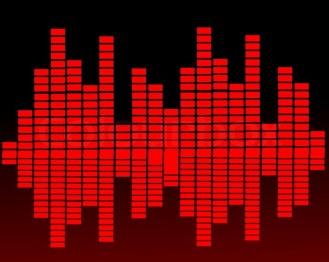 8104767-sound-waves