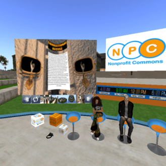 Snapshot_ Nonprofit Commons Amphitheater - Welcome!, Plush Nonp