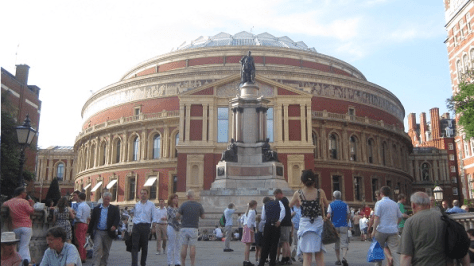 London's Royal Albert Hall, home of the BBC Proms