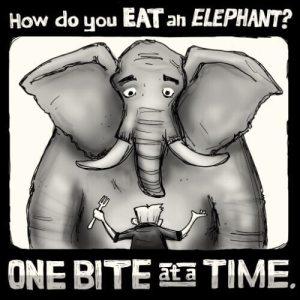 How to Eat an Elephant