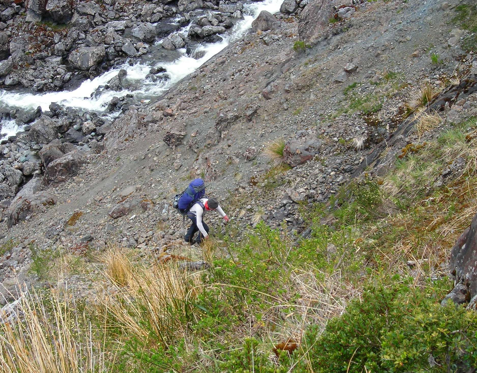 9 Steep walk in with heavy bags