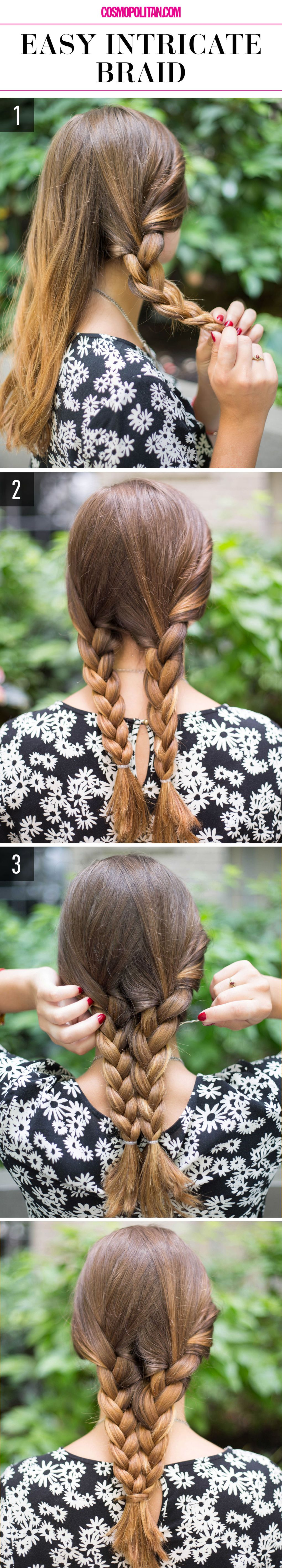 Easy Intricate Braid
