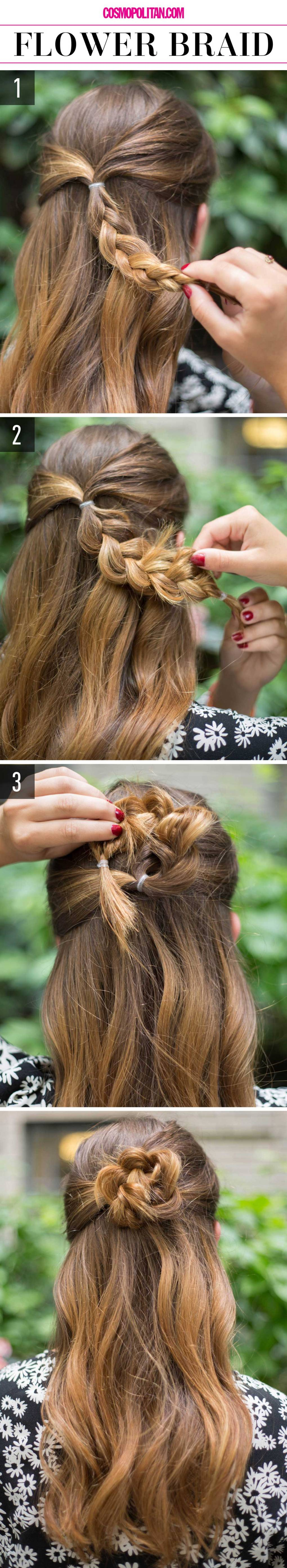 15 Super-Easy Hairstyles for Lazy Girls Who Can't Even - crazyforus