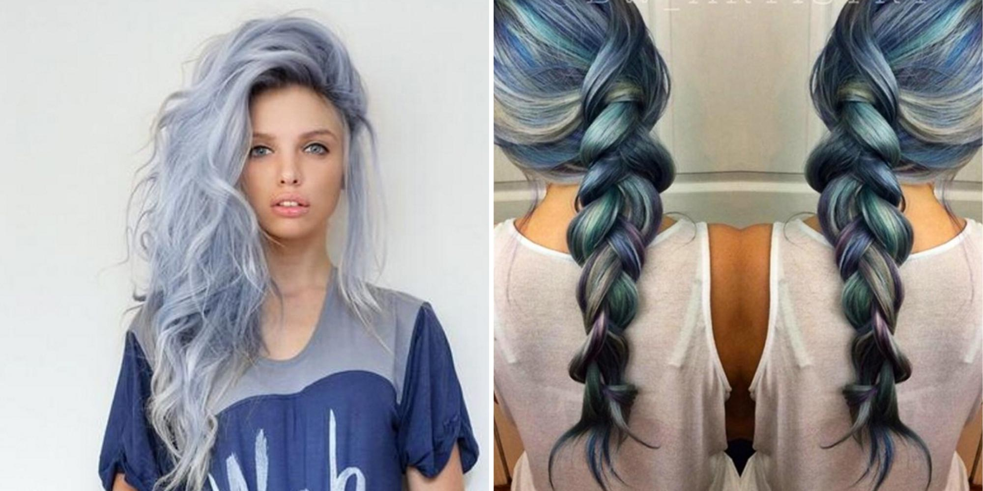 Denim Hair Is The Low Key Cool Way To Make Your Hair Stand Out