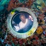 Dr. Mark Patterson living in the Aquarius Habitat.