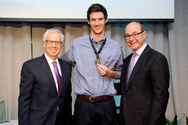 Ethan Edson receives RISE:2015 Award